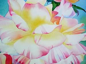 Watercolor Painting Demo Flowers - By Barbara Fox