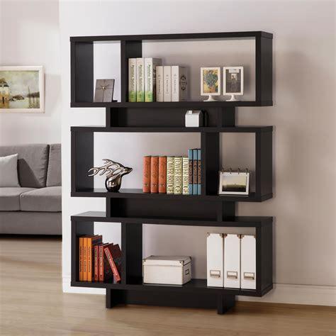 Coaster Bookcase by Coaster Bookcases Contemporary Geometric Bookcase Value