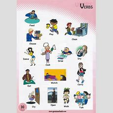 Verbs Pictures To Download And Print