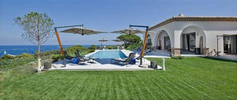 chambres d h es peninsula villa en location à tropez 400 m2 4 chambres vue mer piscine air