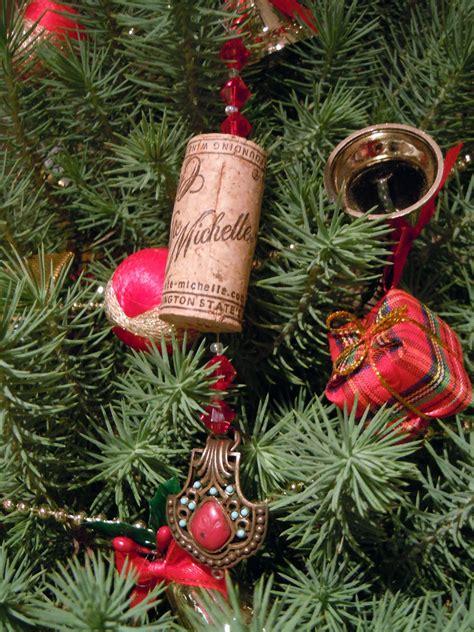 dogs life wine cork ornaments