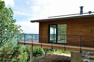 cm bois et habitat construction de maisons a ossature With maison en beton banche 2 mlel dank architectes
