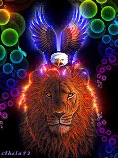 neon animals tigresswolfs blog