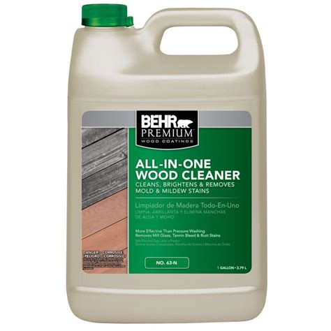 behr premium  gal    wood cleaner