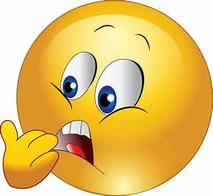 Frightened Face Emoticon - ClipArt Best