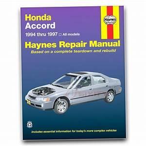 Honda Accord Haynes Repair Manual Lx Value Package Ex 25th
