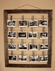 Cadre Pour Plusieurs Photos : fabriquer un cadre photo 60 id es pour un objet valeur sentimentale ~ Teatrodelosmanantiales.com Idées de Décoration