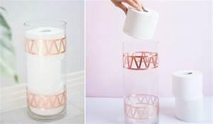 Boite De Rangement Papier : rangement papier toilette indispensable dans les toilettes ~ Teatrodelosmanantiales.com Idées de Décoration