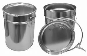 Eimer 30 Liter : 10x wei blecheimer mit spannringdeckel 30 l metalleimer eimer hobbock 10x23013 ebay ~ Orissabook.com Haus und Dekorationen