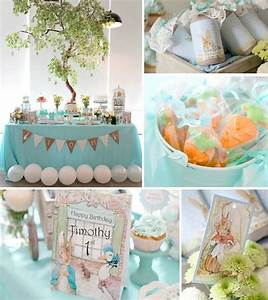 Kara's Party Ideas Peter Rabbit Themed Birthday Party