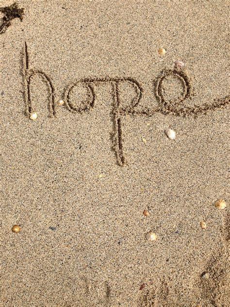 photo hope writing text positive  image