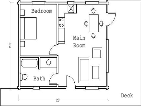 house plans with guest house flooring guest house floor plans the deck guest house