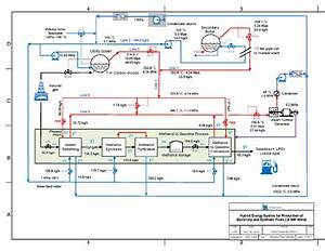 Process Flow Diagram For Nhes Texas  Steam Conditioning