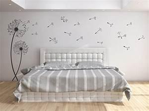 Bilder Für Schlafzimmer Wand : wandtattoo pusteblumen von ~ Sanjose-hotels-ca.com Haus und Dekorationen