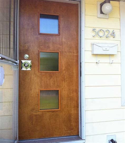 modern interior doors mid century mid century modern front doors 16454