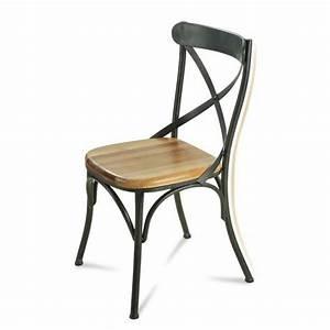 Chaise Fer Forgé Et Bois : chaise fer et bois awesome fauteuil de jardin bois et fer ~ Dailycaller-alerts.com Idées de Décoration