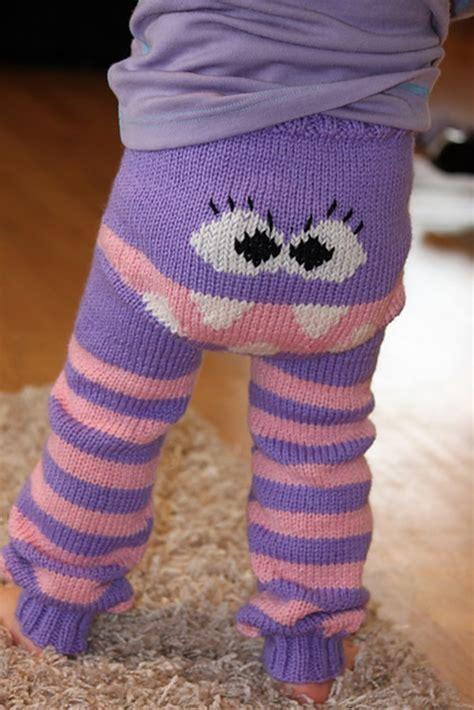diy knit monster pants  patterns