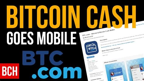 Other features available include withdrawals, deposits, usd and btc storage, the option to link. Bitcoin Cash Goes Mobile - App Wallet for IOS and Android ...