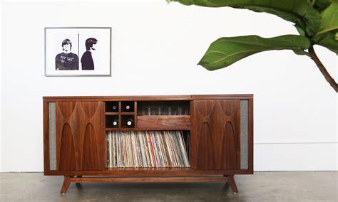 vinyl vintage storage egb2 record console hifi record consoles furniture luno 3289