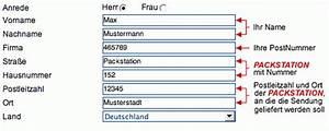 Packstation Adresse ändern : register packstation ~ Orissabook.com Haus und Dekorationen