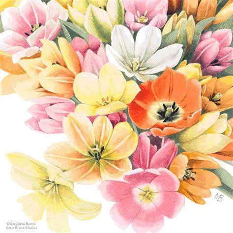 burst  color  beautiful greenhouse tulips