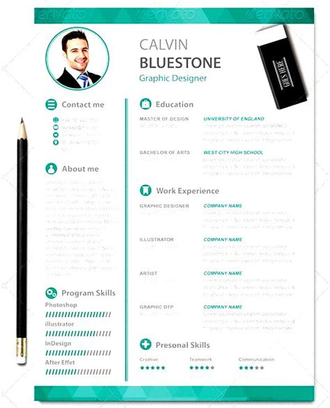 graphic designer resume template  samples examples