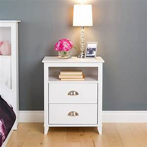 Tall, Nightstand, With, Drawers