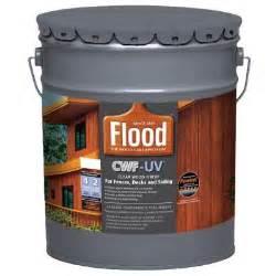 flood 5 gal clear cwf uv oil based exterior wood finish