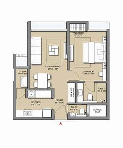 Check Out The Lodha Casa Viva Floor Plan For 1 Bhk  In 2020