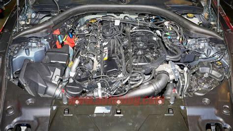 2019 toyota supra engine 2019 toyota supra interior engine seen undisguised autoblog
