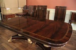 97+ [ Mahogany Dining Room Tables ] - Banded Mahogany