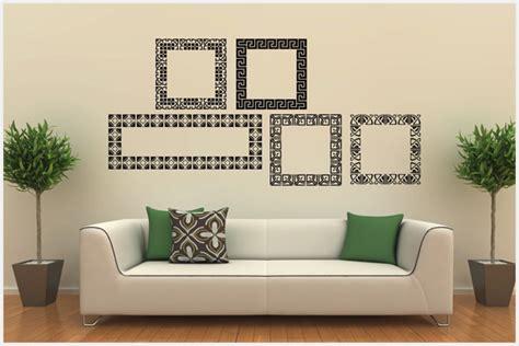 adesivi murali cornici wrapitup adesivi murali cornici fr102 wall stickers