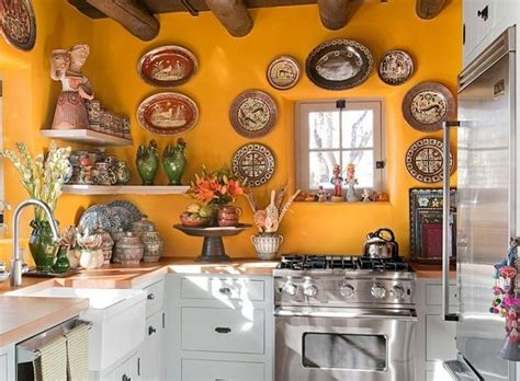 Mexikanische Kuche by Mexican Kitchen Decor With Decorative Wall Plates