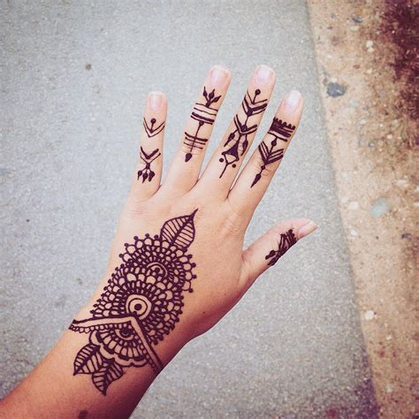 long  henna tattoos   inspirational designs