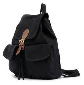 Canvas Rucksack Backpack Girls