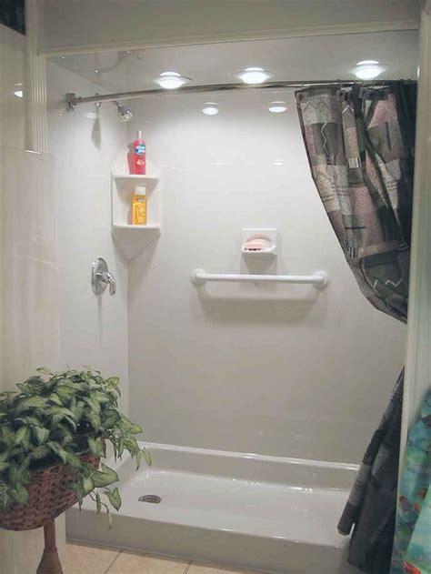 bathroom bathroom fiberglass shower pan shower