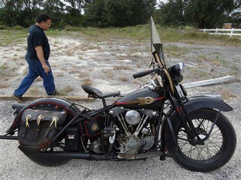 1938 Harley Knucklehead Still Wears Its Original Paint