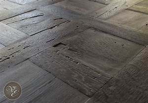 French parquet chantilly smoked and lyed 09 french oak for Parquet chantilly