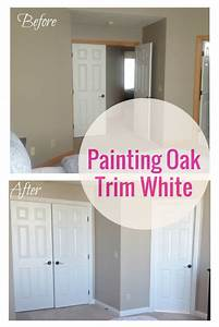 The Delighted Dwelling Painting Oak Trim