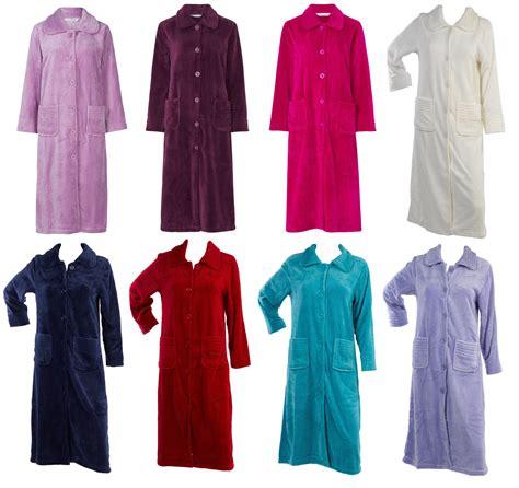 robe de chambre en anglais slenderella femmes boutonné polaire souple robe de chambre