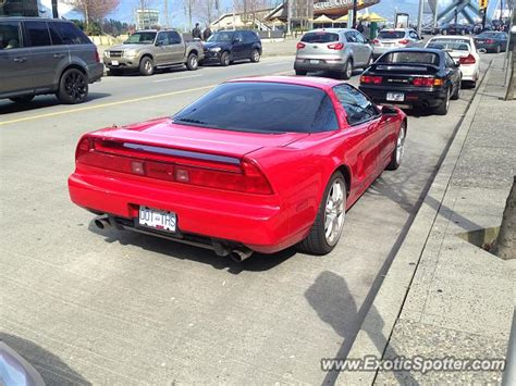 acura nsx spotted in vancouver canada on 03 26 2016