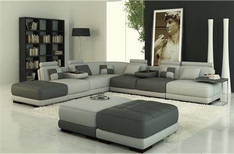 canap haut de gamme design canap angle en cuir vachette blanc