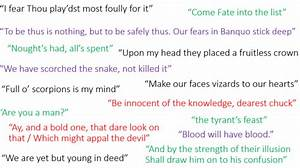 Macbeth – Plo... Macbeth Banquo Ambition Quotes