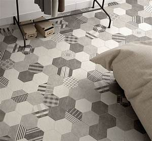 Art Et Carrelage : hexatile cement centura carrelage hexagonal ~ Melissatoandfro.com Idées de Décoration