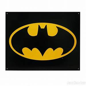 Batman Symbol Tin Poster Sign