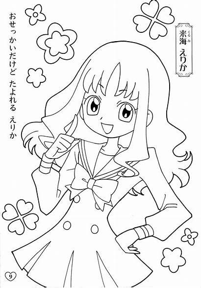 Pretty Cure Fresh Heartcatch Coloring Erika Precure