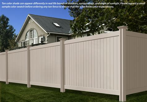 vinyl fence colors fence colors wambam fence