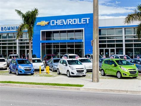 Bomnin Chevrolet Dadeland Chevrolet Dealership In Miami Fl
