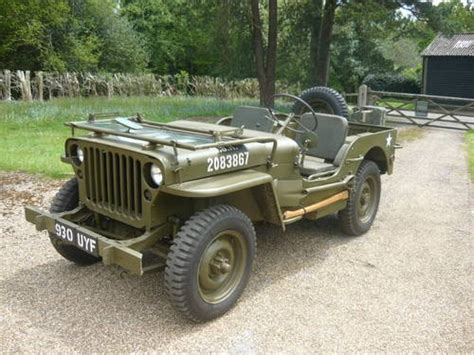 vintage willys jeep for sale willys jeep chassis number mb129759 1942
