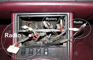 Mystery Wires Behind Radio